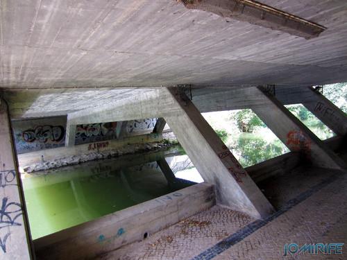 Jardim do Polis Leiria (Centro) - Passagem por baixo da ponte (4) [en] Polis Garden of Leiria, Portugal