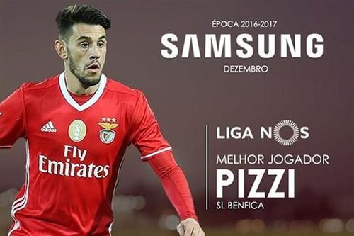 Pizzi novamente jogador do mês na votação da Li