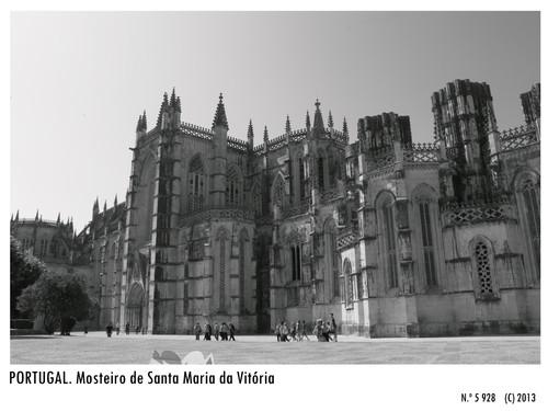 Mosteiro de Santa Maria da Vitória, Batalha -- (c) 2013