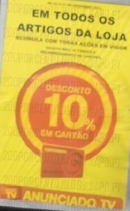 10% de desconto em cartão | CONTINENTE | Acumulações