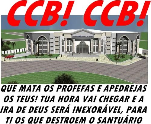 CCB QUE MATA OS PROFETAS