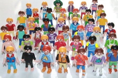 Original-Alemanha-10-P-s-lote-Playmobil-toy-action