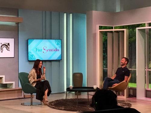 Nuno Matos Cabral na Sic Mulher com Adelaide de So
