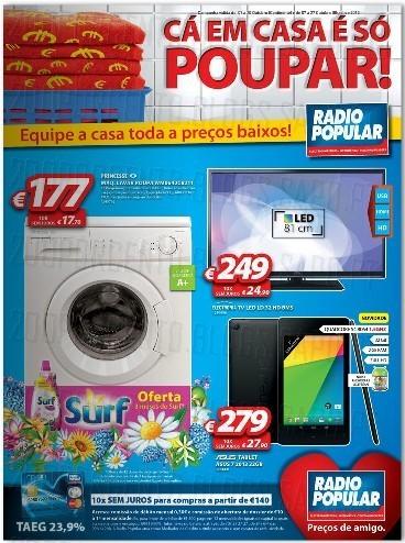Novo Folheto Rádio Popular - Já Online, de 7 a 20 Outubro