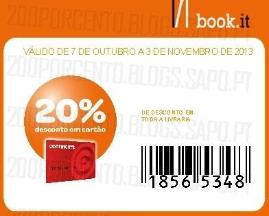 20% desconto book.it