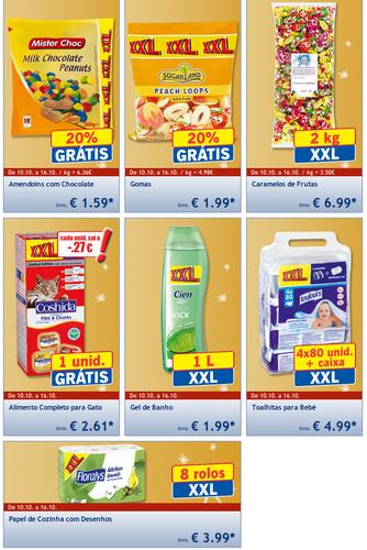 Promoção LIDL, XXL a Preços xxs