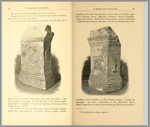 Endovélico (In Archeologo Português, v. I, nº 2, 1895)