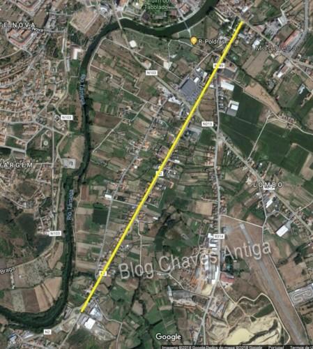 Localização da Avenida D. João I no GoogleMaps