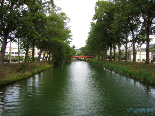 Jardim do Polis Leiria (Oeste) - Rio Lis (2) [en] Polis Garden of Leiria, Portugal