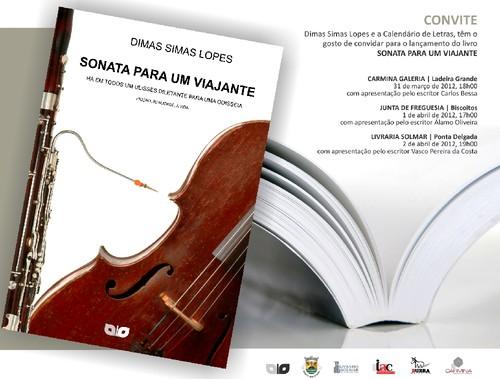 O primeiro livro de Dimas Simas Lopes...