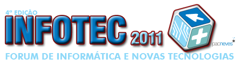 Logotipo do evento Infotec 2011