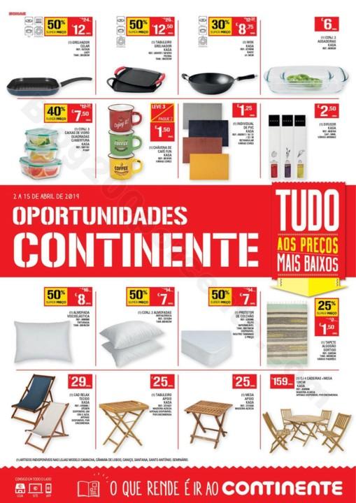 Antevisão Folheto CONTINENTE Oportunidades de 2 a