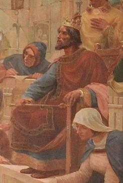 El-Rei_D._Dinis_Administrando_Justiça_(1899)_-_Ve