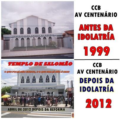 CCB/IDOLATRIA/NOVA ERA