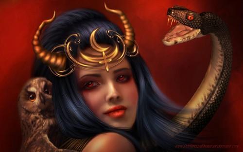 A lenda do demónio fêmea