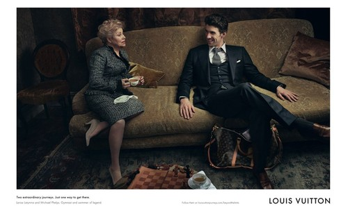 Michael Phelps para Louis Vuitton