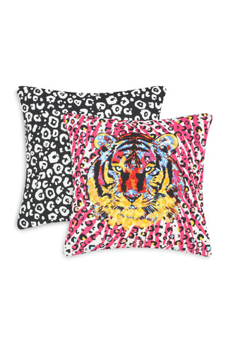 Kimball-1638001-PINK STATEMENT TIGER CUSHION,Grade