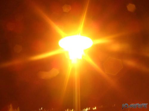 Texturas - Luz de candeeiro de rua à noite [EN] Textures - Streetlight at night