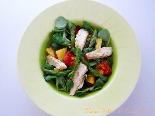 Salada de frango e tomate assado1