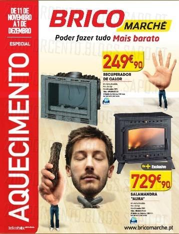 Novo Folheto | BRICOMARCHÉ | especial aquecimento, de 11 novembro a 1 dezembro