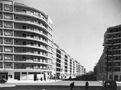 Av. João XXI, Lisboa (H.Novais, 195...)