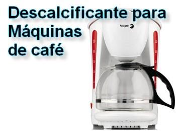 descalcificante para máquinas de café
