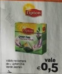 Acumulação 35% + vale CONTINENTE de 8 a 14 julho - Lipton