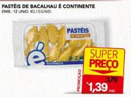 Super Preço Pasteis Bacalhau