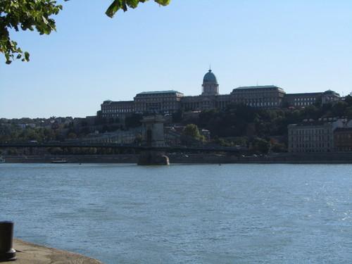 Budapeste - Palácio Real e Ponte das Correntes