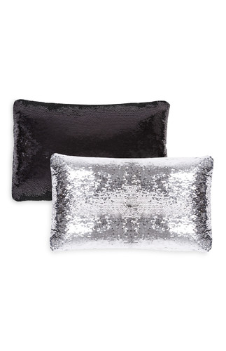 kimball-0608805-sequin cushion black, grade missin