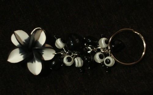 Porta chaves flor...