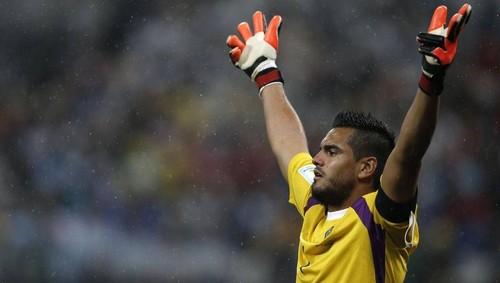 Romero foi o herói Argentino do dia
