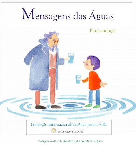 E-livro infantil Mensagens na Agua