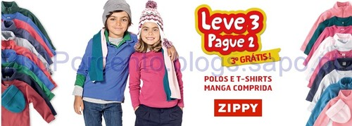 Zippy Leve 3 Pague 2 até 24 de Setembro