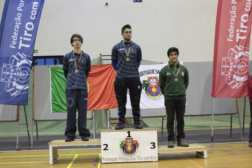 Luis Lopes - 3º Classificado Cadete Homens Recurvo