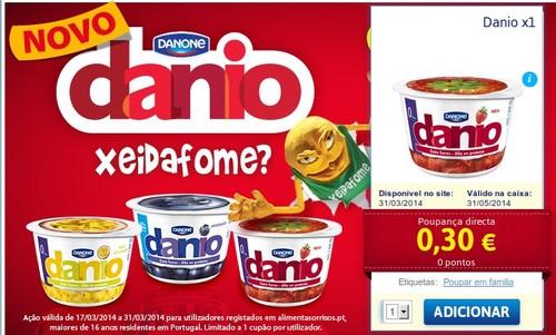 Promoção | JUMBO | Danone - Danio
