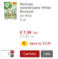 Airwick 50% Super Preço