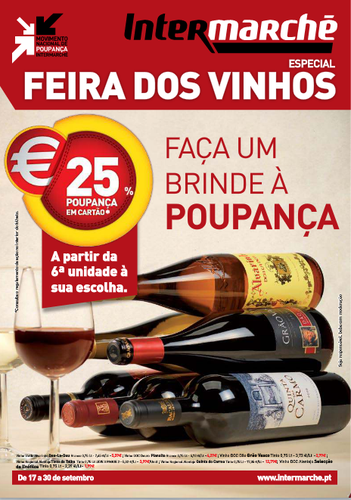 Folheto Intermarche - Contact de 17 de Setembro a 23 de Setembro - Feira de Vinhos