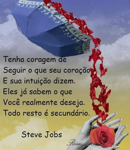 Coragem, Steve Jobs