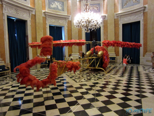 Joana Vasconcelos - Lilicoptére 2012 (6) aka Helicóptero com penas [EN] Lilicopter - Helicopter with feathers