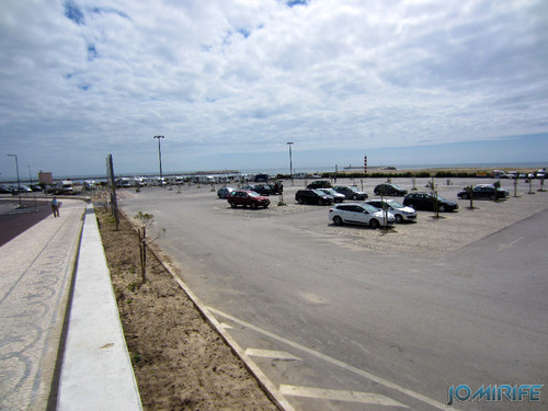 Figueira da Foz: Estacionamento de Carros no Parque das Gaivotas é pago (1) [en] Car parking in Seagull Park is paid in Figueira da Foz, Portugal