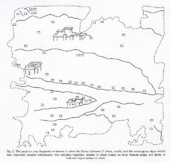 Papiro de Artemidoro segundo Kramer.jpg