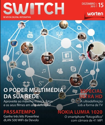 Nova revista | SWITCH | da worten - dezembro