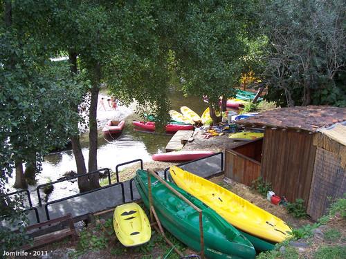 Vila de Góis - Praia fluvial: Barcos de passear