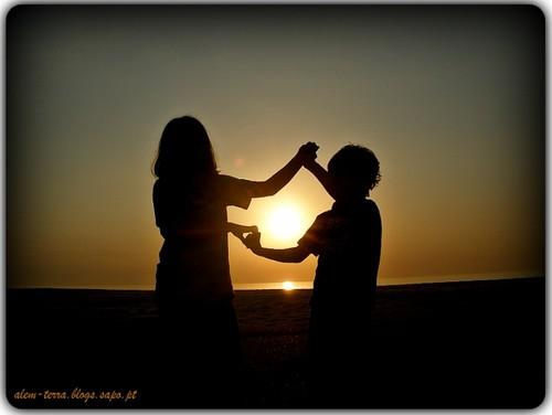 façam o favor de ser felizes, pôr-do-sol, Furadouro 22 de oitembro de 2011