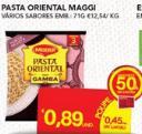 Pasta Oriental Maggi 50%