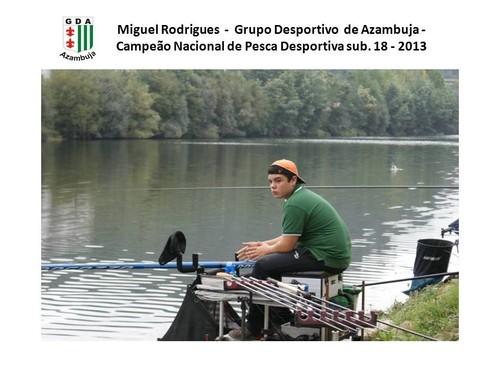 Pescador do GDA - Campeão Nacional de sub. 18 - 2013