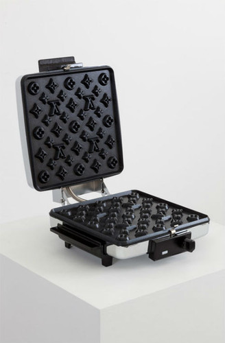 Máquina de Waffers Louis Vuitton