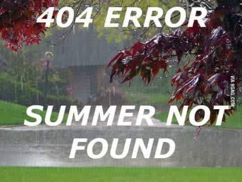 Summer not found
