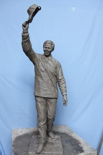 Nelson Mandela por Alves André.
